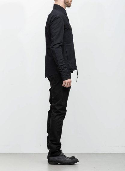 M.A maurizio amadei men relaxed biker jacket J227Z black CLR1 hide m 5