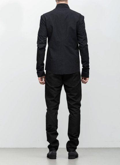M.A maurizio amadei men relaxed biker jacket J227Z black CLR1 hide m 6