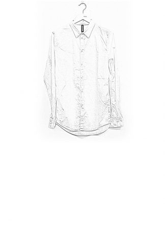 POEME BOHEMIEN men regular shirt ss18 white cotton elasthan hide m 1