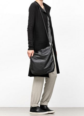 Rick Owens women fw18 sisyphus big adri shoulder bag soft lamb leather black hide m 3