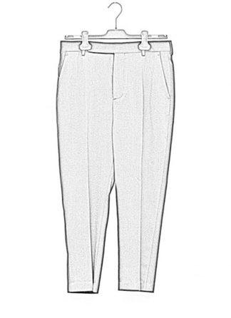 Rick Owens women fw18 sisyphus easy astaire pants wool black hide m 1