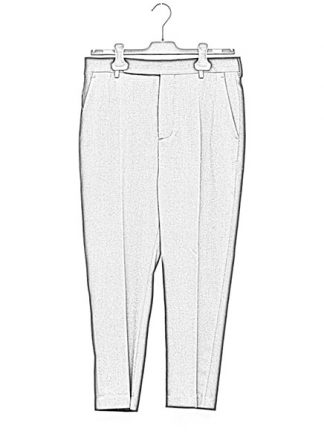 Rick Owens women fw18 sisyphus easy astaire pants wool elastan black hide m 1