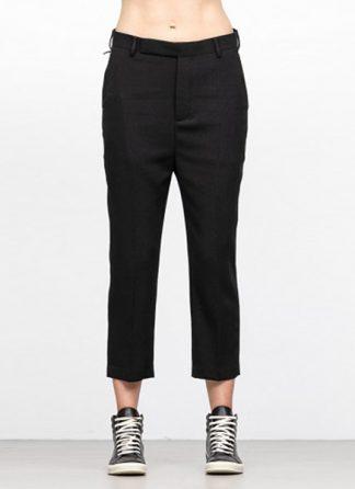 Rick Owens women fw18 sisyphus easy astaire pants wool elastan black hide m 2