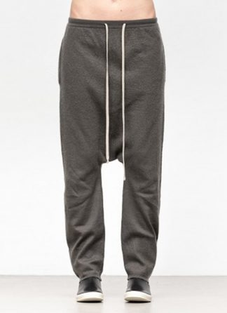 Rick Owens women fw18 sisyphus knit pants drawstring long cashmere dark dust hide m 2