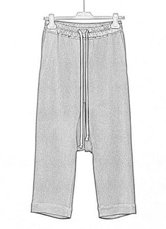 Rick Owens women fw18 sisyphus woven cropped pants viscose silk black hide m 1