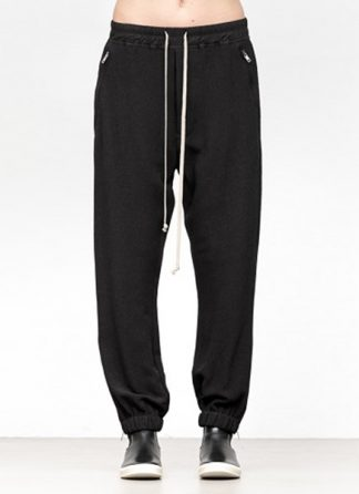 Rick Owens women fw18 sisyphus woven track pants viscose silk black hide m 2