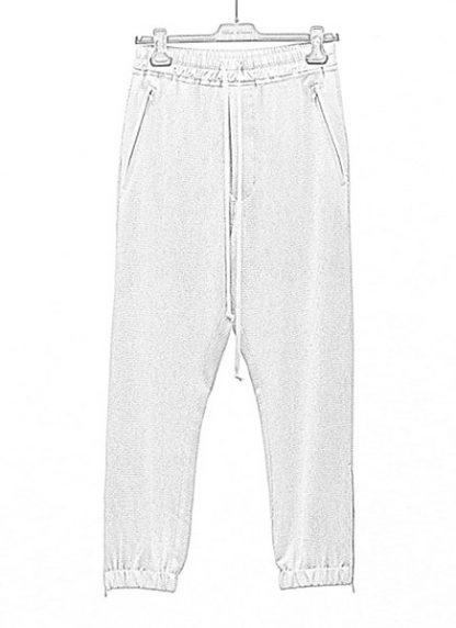 Rick Owens women fw18 sisyphus woven track pants viscose silk pearl hide m 1