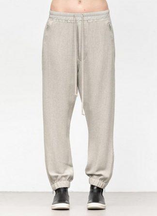 Rick Owens women fw18 sisyphus woven track pants viscose silk pearl hide m 2