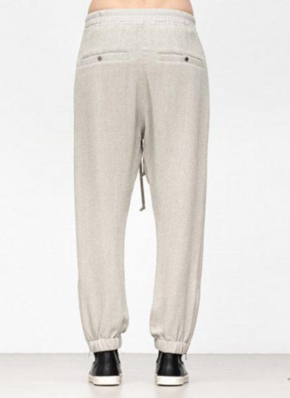 Rick Owens women fw18 sisyphus woven track pants viscose silk pearl hide m 4
