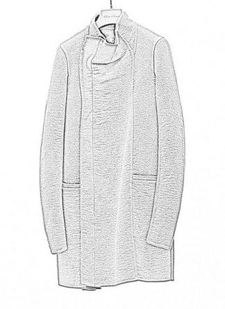 Rick Owens women fw18 sisyphus zipped eileen coat cashmere dark dust hide m 1