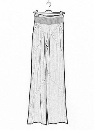 Rick Owens women ss19 babel bias pants silk black hide m 1