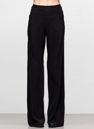Rick Owens women ss19 babel bias pants silk black hide m 2