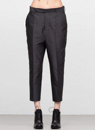 Rick Owens women ss19 babel easy astaires pants cotton silk blujay hide m 2