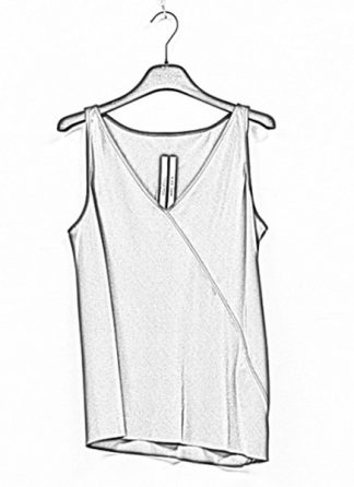 Rick Owens women ss19 babel kinga top silk blujay hide m 1