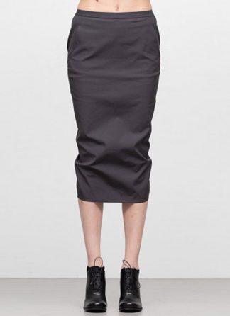 Rick Owens women ss19 babel soft pillar short skirt cotton spandex blujay hide m 2