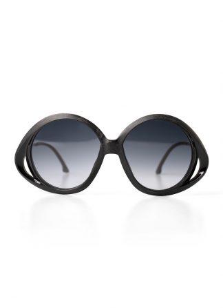 Rigards sun glasses brille eyewear sonnenbrille RG0078 titanium genuine horn black hide m 1
