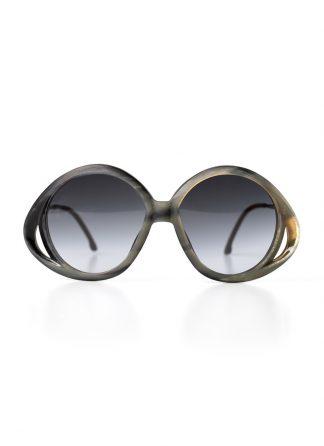 Rigards sun glasses brille eyewear sonnenbrille RG0078 titanium genuine horn black white hide m 1