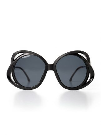 Rigards sun glasses brille eyewear sonnenbrille RG0079 A108 titanium genuine horn black hide m 1