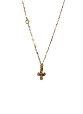 Werkstatt Muenchen chain mini cross gold M7410 900 000 gold 22k hide m