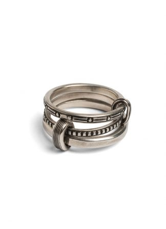 Werkstatt Muenchen connected ring trace m1416 925sterling silver hide m 1
