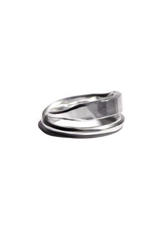 Werkstatt Muenchen cross ring forged m1721 925 sterling silver hide m