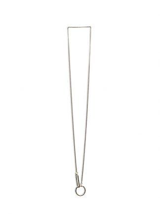 Werkstatt Muenchen necklace hammered link m3878 925 sterling silver hide m