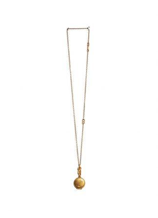 Werkstatt Muenchen necklace medallion m3841 900 000 gold 22k hide m 1