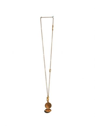 Werkstatt Muenchen necklace medallion m3841 900 000 gold 22k hide m 2