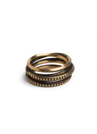 Werkstatt Muenchen ring wound trace m1977 900 000 gold 22k hide m