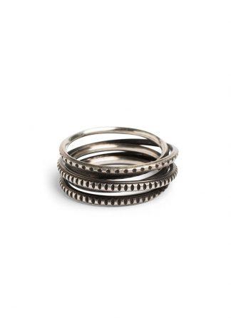 Werkstatt Muenchen ring wound trace m1977 925 sterling silver hide m