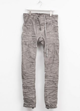 boris bidjan saberi men pants P13HS tight fit light grey F1939 hide m 2 768x1056 1