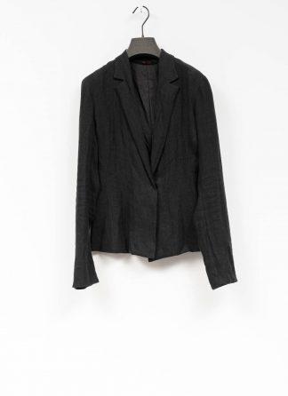 m.a macross maurizio amadei women short blazer jacket damen frauen jacke JW182 linen black hide m 2