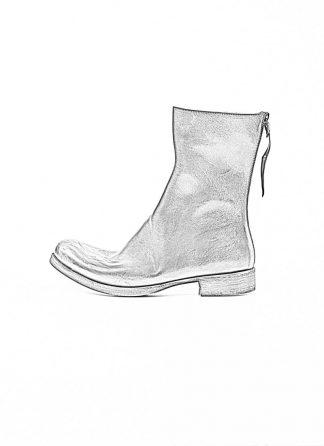 m.a maurizio amadei men back zip boot shoe schuh stiefel S1N3Z horse leather black hide m 1