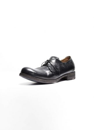 m.a maurizio amadei men one leather piece shoe derby schuh S1A1 CUAV horse leather black hide m 2