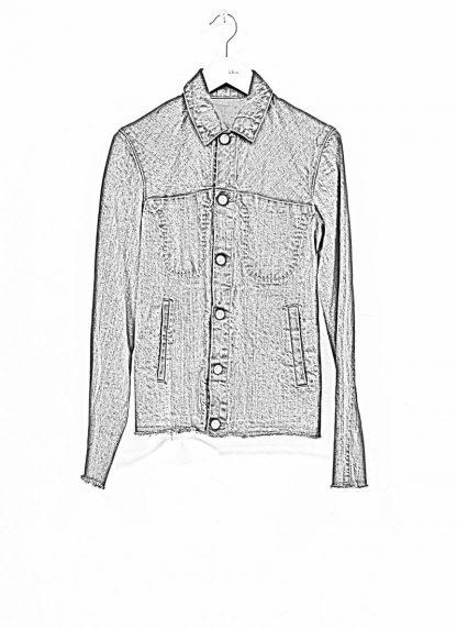 m.a maurizio amadei women denim jacket jeans jacke DJ01.3 CDI cotton indigo hide m 1