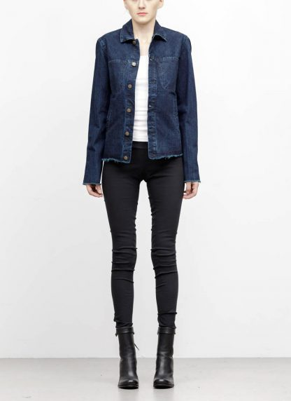 m.a maurizio amadei women denim jacket jeans jacke DJ01.3 CDI cotton indigo hide m 2