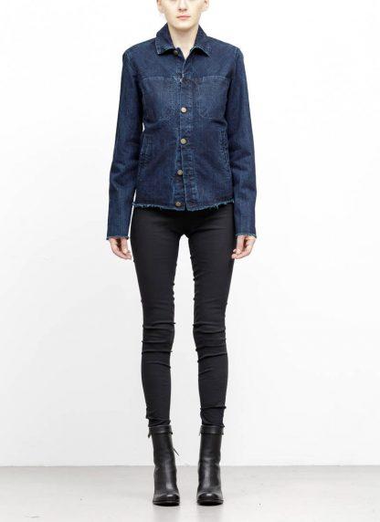 m.a maurizio amadei women denim jacket jeans jacke DJ01.3 CDI cotton indigo hide m 3