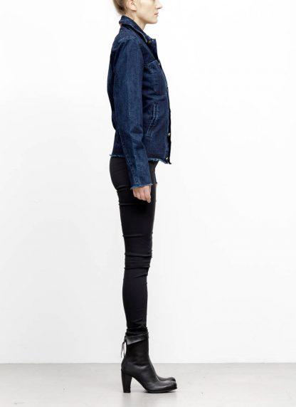 m.a maurizio amadei women denim jacket jeans jacke DJ01.3 CDI cotton indigo hide m 4