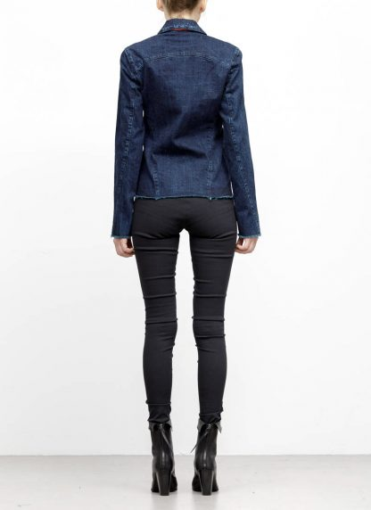 m.a maurizio amadei women denim jacket jeans jacke DJ01.3 CDI cotton indigo hide m 5