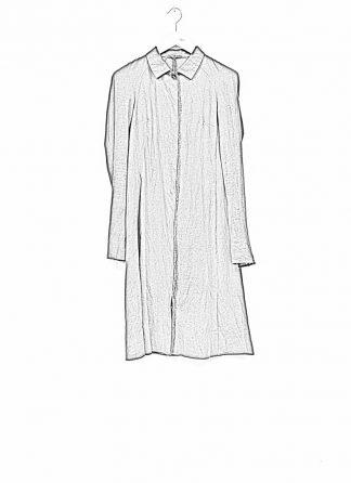 m.a maurizio amadei women raglan long shirt HW130L cotton linen ramie black hide m 1