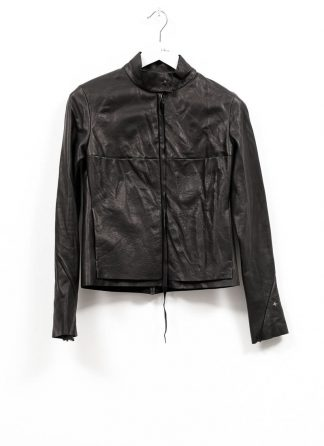 m.a maurizio amadei women relaxed biker jacket damen leder jacke JW225Z SY wasched cow leather black hide m 2