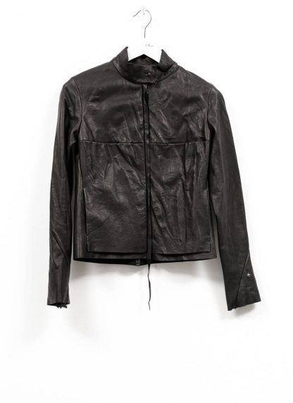 m.a maurizio amadei women relaxed biker jacket damen leder jacke JW225Z SY wasched cow leather black hide m 2
