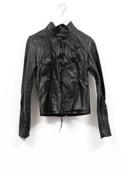 m.a maurizio amadei women relaxed biker jacket damen leder jacke JW225Z VA vachetta leather black hide m 2