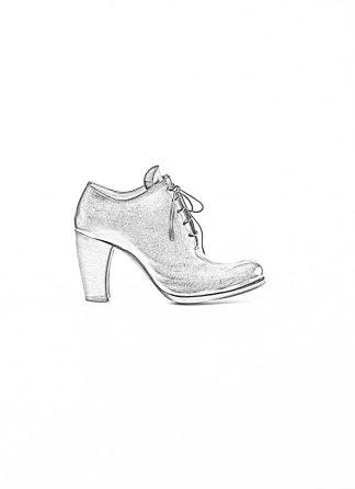 m.a maurizio amadei women staple high heel shoe schuh stiefel SW7B1 VAD vachetta cow leather black hide m 1
