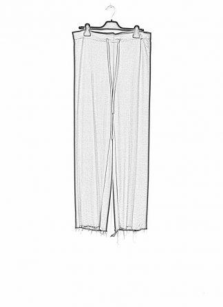 m.a maurizio amadei women wide pants with belt PW444 viscose vigin wool elastan black hide m 1