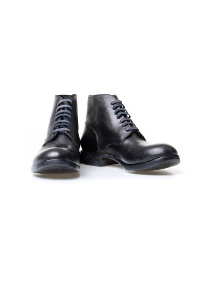 m moriabc maurizio altieri AA due goodyear handmade men shoe boot herren schuh stiefel horween destroyed horse rev black hide m 2