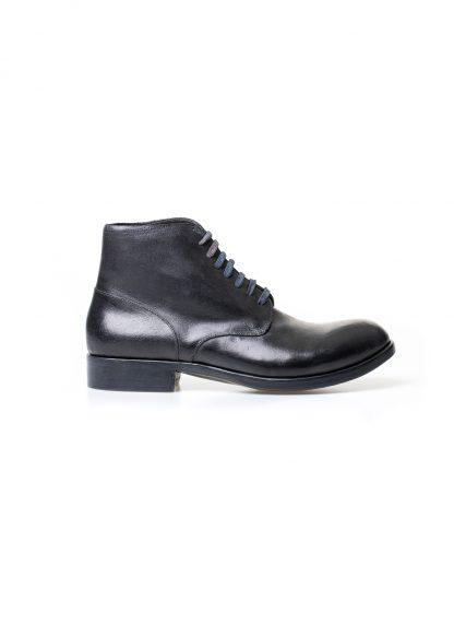 m moriabc maurizio altieri AA due goodyear handmade men shoe boot herren schuh stiefel horween destroyed horse rev black hide m 3