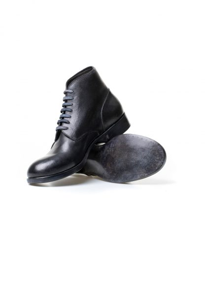 m moriabc maurizio altieri AA due goodyear handmade men shoe boot herren schuh stiefel horween destroyed horse rev black hide m 4