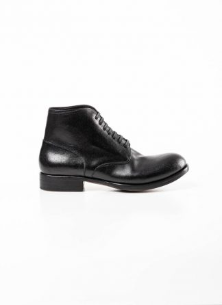 mmoriabc maurizio altieri men ankle boot shoe schuh stiefel AA Dve horween horse destroyed leather black hide m 2