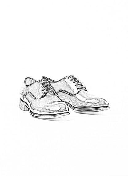 mmoriabc maurizio altieri men goodyear wood nailed derby shoe schuh BBB ZeRo genuine horween shell cordovan leather black hide m 1